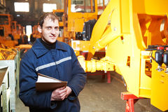 Portrait of experienced industrial engineer Royalty Free Stock Image