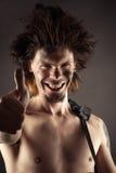 Portrait expressif d'un homme Image libre de droits