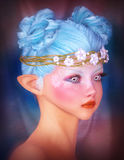 Portrait of a fairy Royalty Free Stock Photography