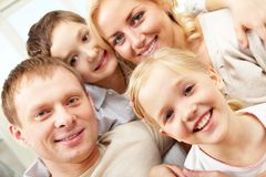 Portrait of family Stock Image