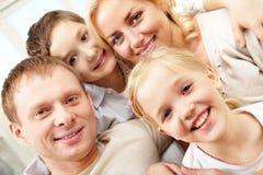 Portrait of family Stock Image