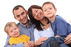 Portrait of family Royalty Free Stock Photo