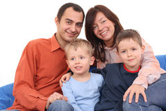 Portrait of family Royalty Free Stock Photography