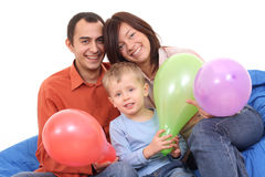 Portrait of family Stock Photography