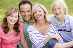 Portrait Of A Family Royalty Free Stock Photography