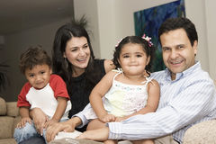 Portrait of family Royalty Free Stock Images