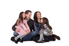 Portrait of a family Royalty Free Stock Image