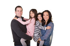 Portrait of a family Stock Photography