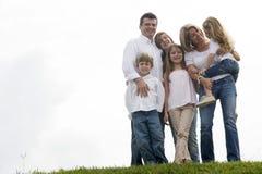 Portrait of family enjoying together Royalty Free Stock Photo