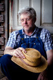 Portrait of a farmer Stock Photography