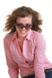 Portrait of fashion girl Royalty Free Stock Photos