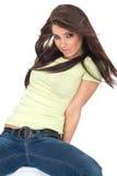 Portrait of fashion girl Stock Image