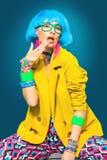 Colorful summer fashion stock image