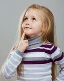 Portrait of fashion kid. Stock Photos