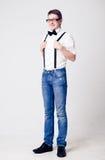 Portrait of fashion man Royalty Free Stock Photo
