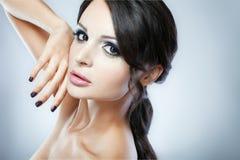 Portrait of fashion model Stock Images