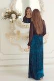 Portrait of fashion model posing Royalty Free Stock Photos