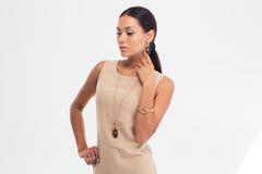 Portrait of a fashion model Stock Photos