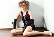 Portrait of fashion woman Stock Photo