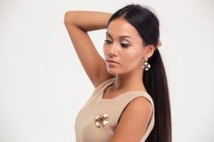 Portrait of a fashion woman Royalty Free Stock Photo