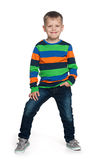 Portrait of a fashion young boy Royalty Free Stock Photography