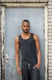 Portrait of a fashionable african american male model Stock Photography