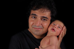 Portrait of father and son Royalty Free Stock Photos