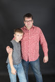 Portrait of father and son Royalty Free Stock Photography