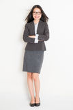 Portrait of female Asian businesspeople Stock Image