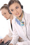 Portrait of female customer service representative Stock Image