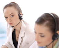 Portrait of female customer service representative Royalty Free Stock Images