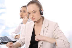 Portrait of female customer service representative Stock Photo
