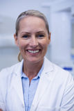 Portrait of female dentist smiling Stock Photography