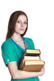 Portrait of female doctor Stock Photography