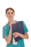 Portrait of female doctor Royalty Free Stock Photo