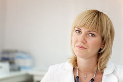 Portrait of female doctor Royalty Free Stock Photography