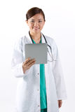Portrait of a Female doctor. Royalty Free Stock Images
