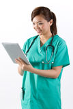 Portrait of a Female doctor. Royalty Free Stock Photography