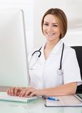 Portrait Of Female Doctor Royalty Free Stock Image