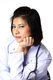 Portrait of a Female Doctor Royalty Free Stock Image