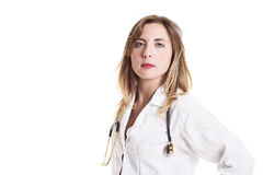 Portrait Of A Female Doctor Stock Photos