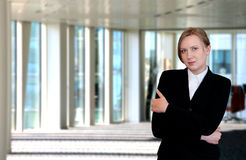 Portrait of a female executive Royalty Free Stock Photos