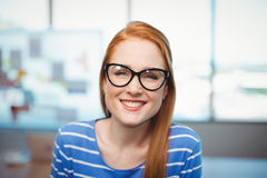 Portrait of female executive in office Royalty Free Stock Photo