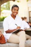 Portrait Of Female High School Student Wearing Uniform Stock Photography