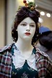 Portrait of female mannequin Stock Image