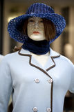 Portrait of female mannequin Royalty Free Stock Photos