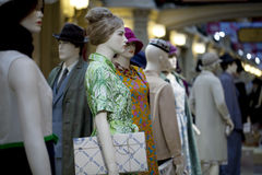 Portrait of female mannequin Royalty Free Stock Photography