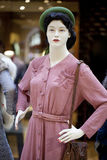 Portrait of female mannequin Stock Images