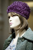 Portrait of female mannequin Royalty Free Stock Image