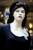 Portrait of female mannequin Royalty Free Stock Photo
